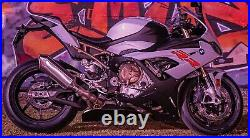 BMW S1000RR 2019-2021 M Sport Cat Cover Lower Belly Pan Fairing Extension
