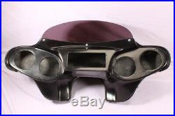 Batwing Fairing Windshield Harley Softail Fatboy Heritage Deluxe Custom Slim Flh