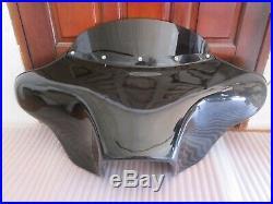 Batwing Fairing Windshield Yamaha V Star Vstar 650 1100 Classic 6x9 Spks Hole