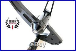 Billet Aluminum Forward Controls Harley Softail 1984/1999 Anodized Black