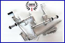 Billet Aluminum Forward Controls Harley Sportster Iron 883 XL1200 1987-2003