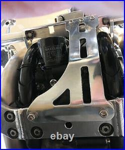 Billet Aluminum Forward Controls Suzuki Intruder 1400 Vs1400 Black 1987-2009