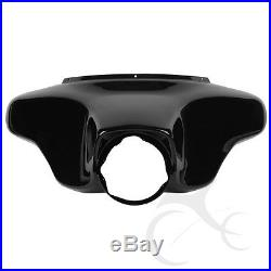 Black ABS Plastic Batwing Inner Outer Fairing For Harley Davidson Touring 96-13