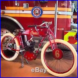 Board track racer tribute DIY kit antique vintage MOTORCYCLE BICYCLE indian cafe