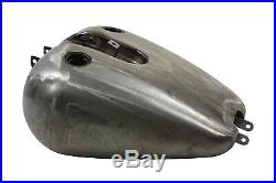 Bobbed 5.1 Gallon Gas Tank, for Harley Davidson motorcycles, by V-Twin