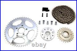 Bolt On Chain Drive Conversion Kit Rear Sprocket Harley Dyna FXD Club Drag 06-17