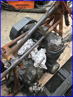 CB 750F2 Honda 750 project/engine 16000 miles