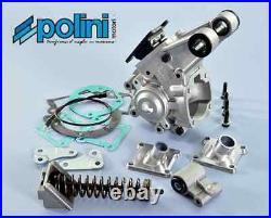 Carter moteur nu POLINI PEUGEOT 103 104 105 GL 10 support ressort pipe clapet