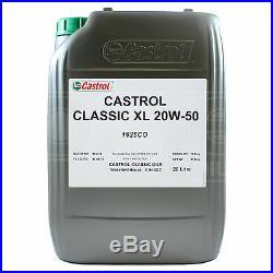 Castrol Classic XL 20W-50 classic engine oil 20 litres 20L