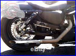 Chain Drive Transmission Sprocket Conversion Kit Harley Sportster Evo Hugger