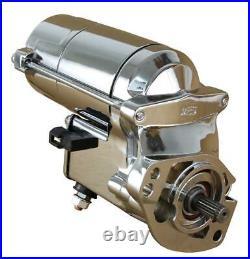 Chrome High Torque Starter Fit Harley Davidson 1340 1450 3155894 2.0k 1280008220