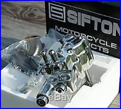 Chrome Sifton Oil Pump 1973-1991 Harley Big Twin Shovelhead Evolution Motor FXST