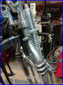 Classic Raw Metal Springer Forks Made in UK