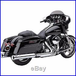 Cobra NH Neighbor Hater Chrome 4 4.5 Slip On Mufflers Exhaust Harley Touring