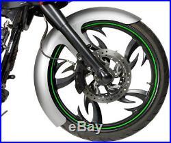 Custom Front Fender 6 Wide For Harley Dresser Bagger Flh 21 120 Wheels