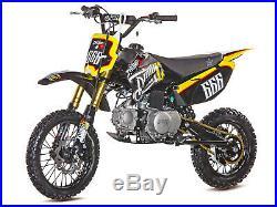 DirtyC 110 Thumpstar Pit Bike Dirt Bike Stomp wpb Motocross, moto, petrol, dirt