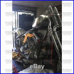 Dished Mid-Tunnel Peanut Wassell Gas Tank 2 gal chopper bobber Shovelhead xs650