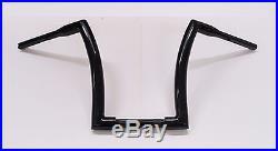 Dna Monster Bars 12 Ape Hanger Fat 1-1/2 Black Handlebars Harley