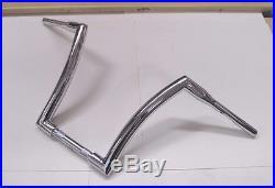 Dna Monster Bars 14 Fat Ape Hanger 1-1/2 Chrome Handlebars Harley