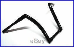 Dna Monster Bars 18 Fat Ape Hanger 1-1/2 Black Handlebars Harley