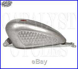 EFI Sportster Gas Tank with Diamond Pattern Gas Tank for Harley Sportster 07-16