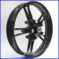 Enforcer Style ReInforcer Gloss Black Front 21 Wheel Harley 08-19 Touring Mod
