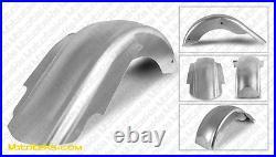 Extended Steel Fender For Saddlebags Harley Touring Bagger Models 1998-2008 New