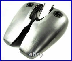 Fat Bob 5 Gallon Split Steel Gas Tank Tanks 1947-1984 Harley Shovelhead Panhead