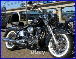 Fat Spoke Wheel 16x3.5 40 Rear Stainless Spokes USA Built 00-08 Touring Bagger