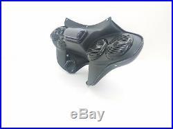 Fatboy Lo Harley Davidson Batwing Fairing 5 1/4 Stereo setup