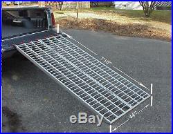 Five Star Mfg Aluminum Ramp 8 ft. Motorcycles Onto Trucks USA Ramps