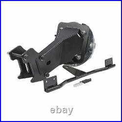 Front Headlight Upper Fairing Cowl Mount & Windshield For Harley Dyna FXDL FXDWG