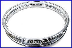 Front Wheel Rim CB450 CB500 CB550 CB650 CB750 19x1.85 Honda D. I. D. See Notes F35