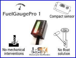 FuelGaugePro1 universal Float free motorcycle fuel gauge meter pressure sensor