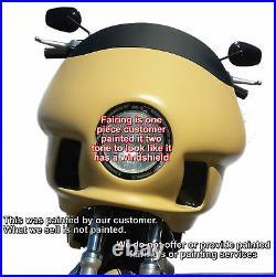 Fxr, Fxrt, Fxrd, Fxrp Fairing Aftermarket Made For Harley Davidson Dyna