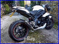 GRmoto Motorcycle Exhaust Slip On Carbon SUZUKI HONDA YAMAHA KAWASAKI
