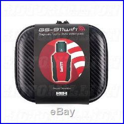 GS911 Wifi Enthusiast ECU Fault Code Reader Diagnostic Tool for BMW Motorcycles
