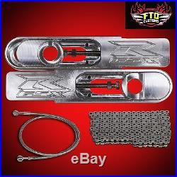 GSXR 600/750 Extended Swingarm Kit GSXR Bolt on Swing arm Extension Kit