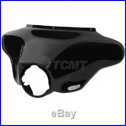 Glossy ABS Front Batwing Outer Fairing For Harley Street Electra Glide 1996-2013