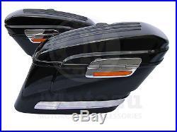HL Hard Saddle bags fits YAMAHA VSTAR V STAR 650 1100 1300 950 Saddlebags Mutazu