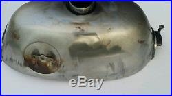 HONDA Z50A MINI TRAIL GAS TANK 1968-1970 (KO/K1) MODEL UNPAINTED (Round emblem)