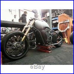 Hard Up Choppers Outlaw Chopper Custom frame for oil cooled GSXR/Bandit Chop