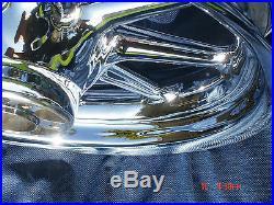 Harley Chrome 9 Spoke Deluxe Fatboy FLSTC Wheels Rims 1990-2007 FLSTF, Heritage