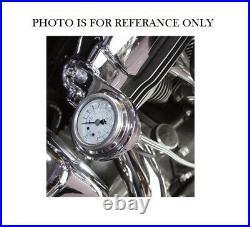 Harley Davidson Bagger Air Ride Kit with Pressure Gauge & Universal Bracket 94-21