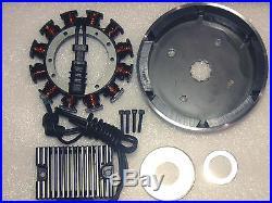 Harley Davidson Evo & S&s 32amp Complete Charging System New
