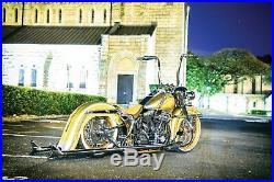 Harley Davidson Fiberglass Rear Cholo Fender Softail Heritage Classic FL