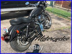 Harley Davidson LAF 1 3/4 Drag Pipes Sportster 883 Exhaust 1984-2014 HD Header