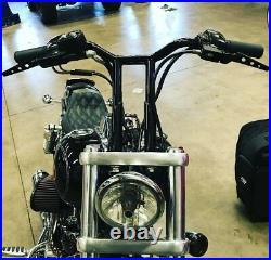 Harley Davidson MX T Bars Handlebar 14 Tall 27 wide Sportster Dyna Made in USA