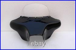 Harley Davidson Road King motorcycle fairing fiberglass batwing 6x9 back mount