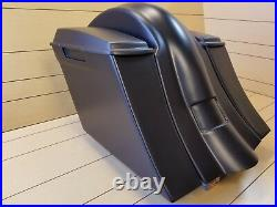 Harley Davidson Softail 6Down/Out Stretched Saddlebags Fender, Deluxe & Heritage